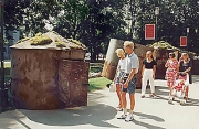 Installatsioon Vabaduse Väljakul Tallinnas 1994